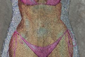 Kim Kardashian Naked Bikini dress