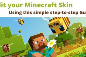 Edit your skin in Minecraft