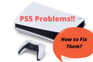 Fix PS5 problems