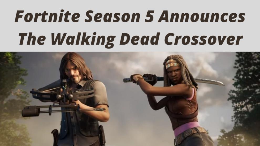 Fortnite Season 5 Announces The Walking Dead Crossover