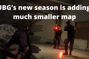 PUBG's new season is adding a much smaller map
