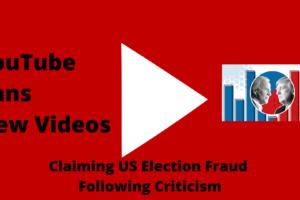 ouTube Bans New Videos