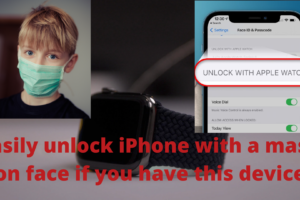 Easily unlock phone with mask if you have this device