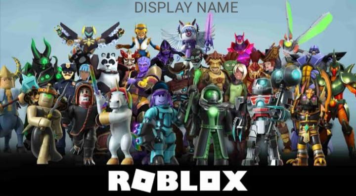 Display name on Roblox