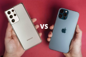 samsung galaxy S21 vs iPhone 12