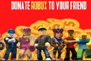 How to donate robux to your friends