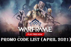 wARFRAME PROMO CODES LIST