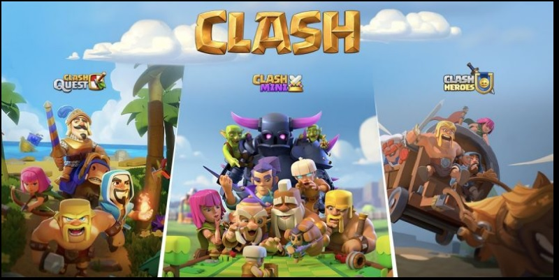 CoC introduces 3 new games