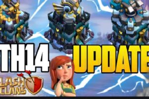 Clash of Clan Town hall 14