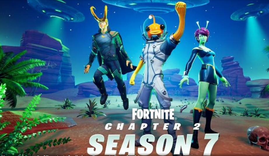 Fortnite Season 7 New skins