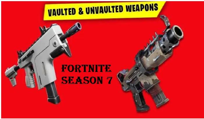 Fortnite Season 7 Weapons