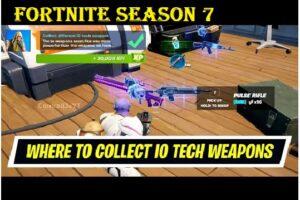 Fortnite Season 7 Week 1 Challenge
